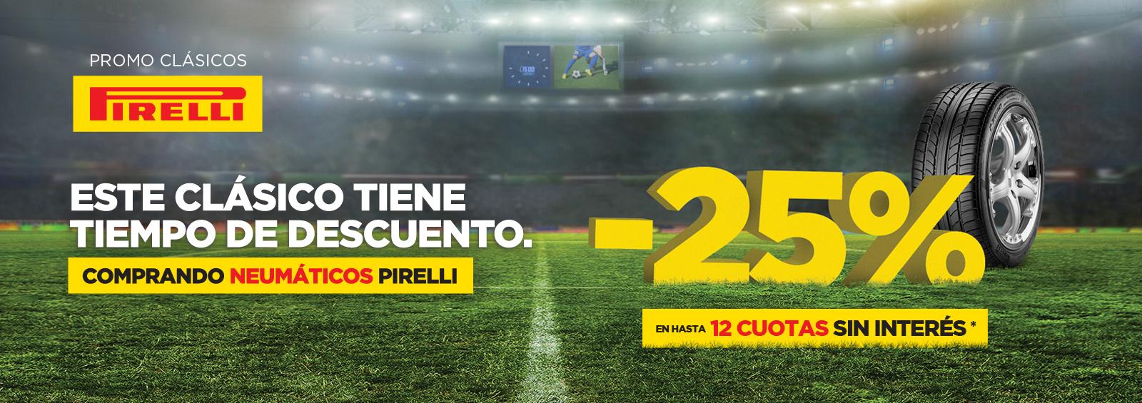Promo Pirelli Clásicos